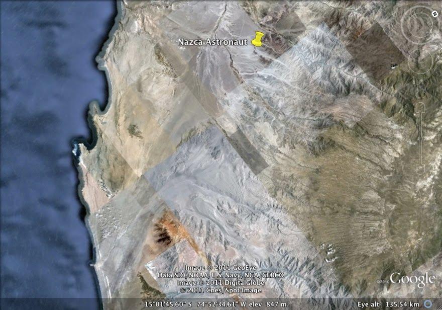 peruvian coastline from space